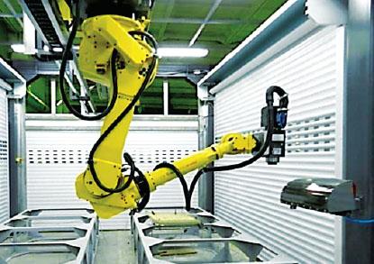 Перенастраиваемый робототехнический комплекс обработки изделий из стеклопластика-11