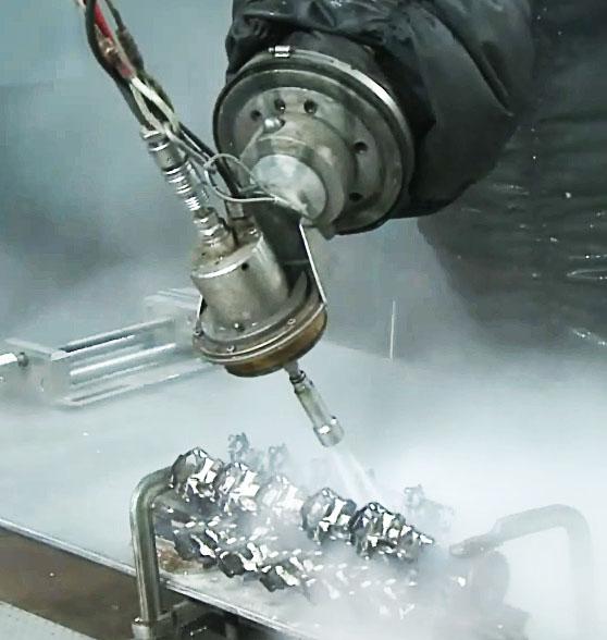 Роботизированный комплекс для удаления керамики с отливок литниково-питающей системы1