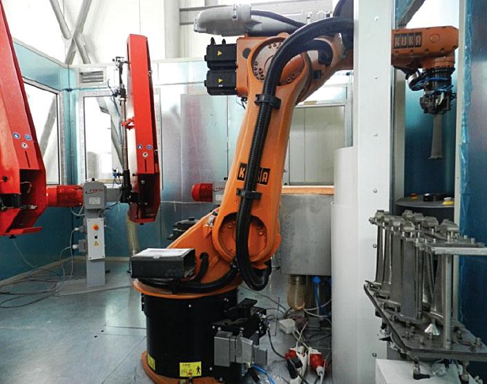 Роботизированный комплекс по адаптивному шлифованию пера авиационной лопатки-3
