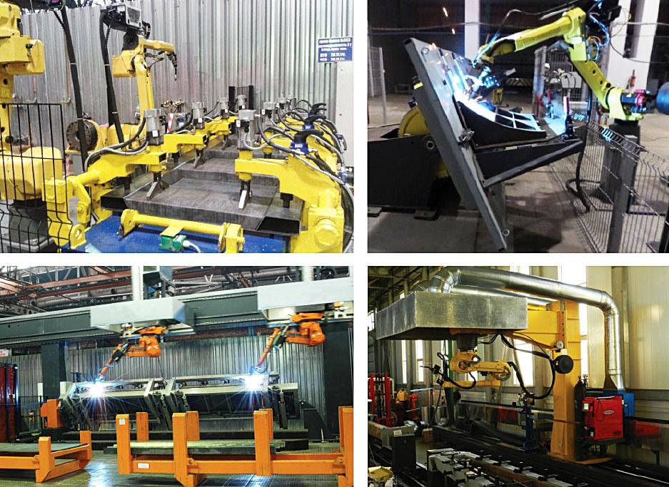 Робототехнические сварочные комплексы
