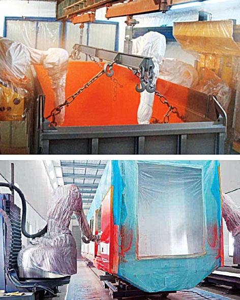 Роботы для очистки, подготовки поверхности и нанесения ЛКМ