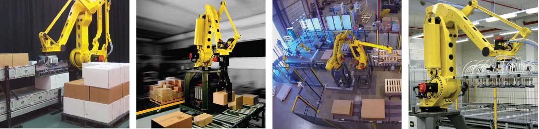 Роботы для сортировки, упаковки и паллетирования